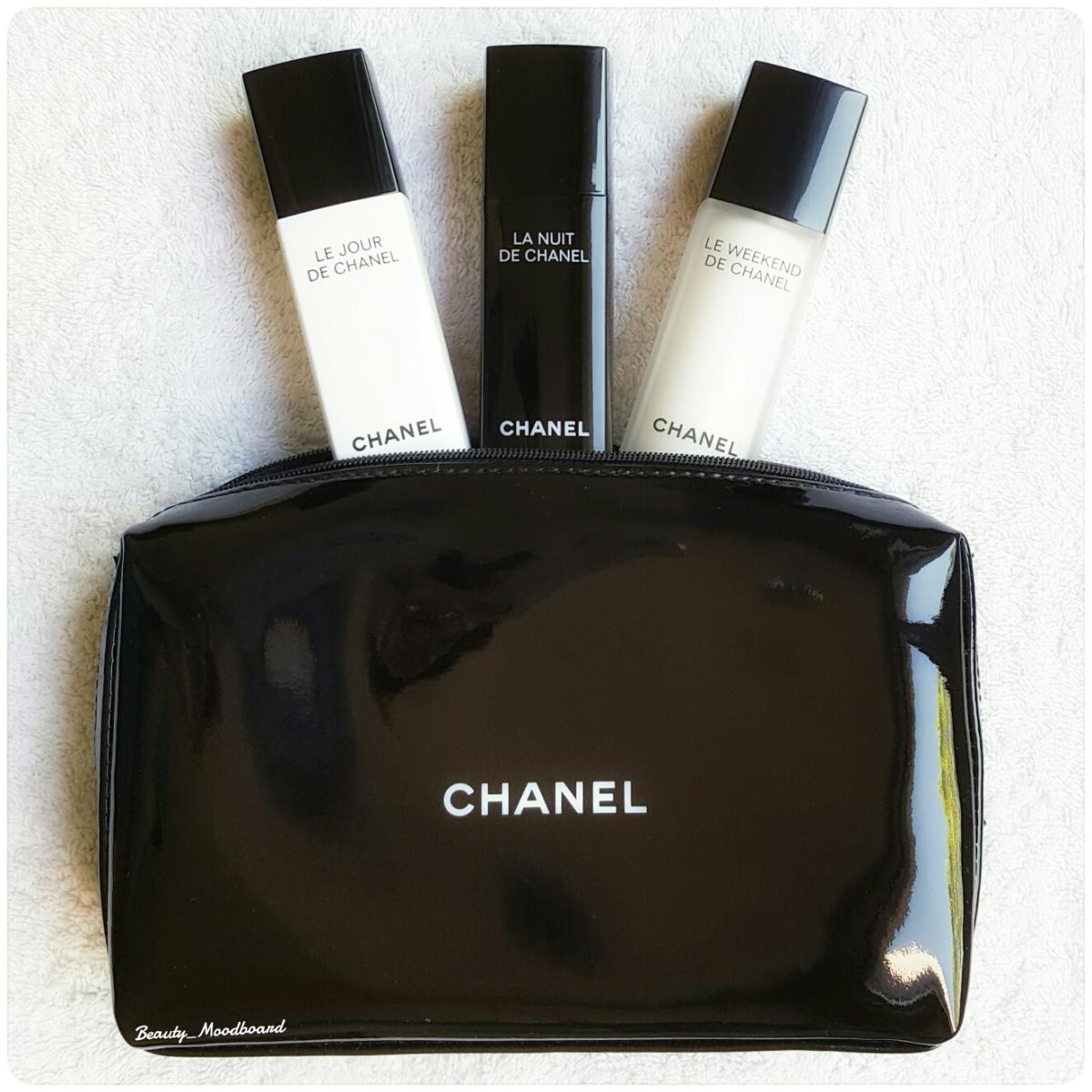 Faire peau neuve : Le Jour, La Nuit, Le Weekend de Chanel !