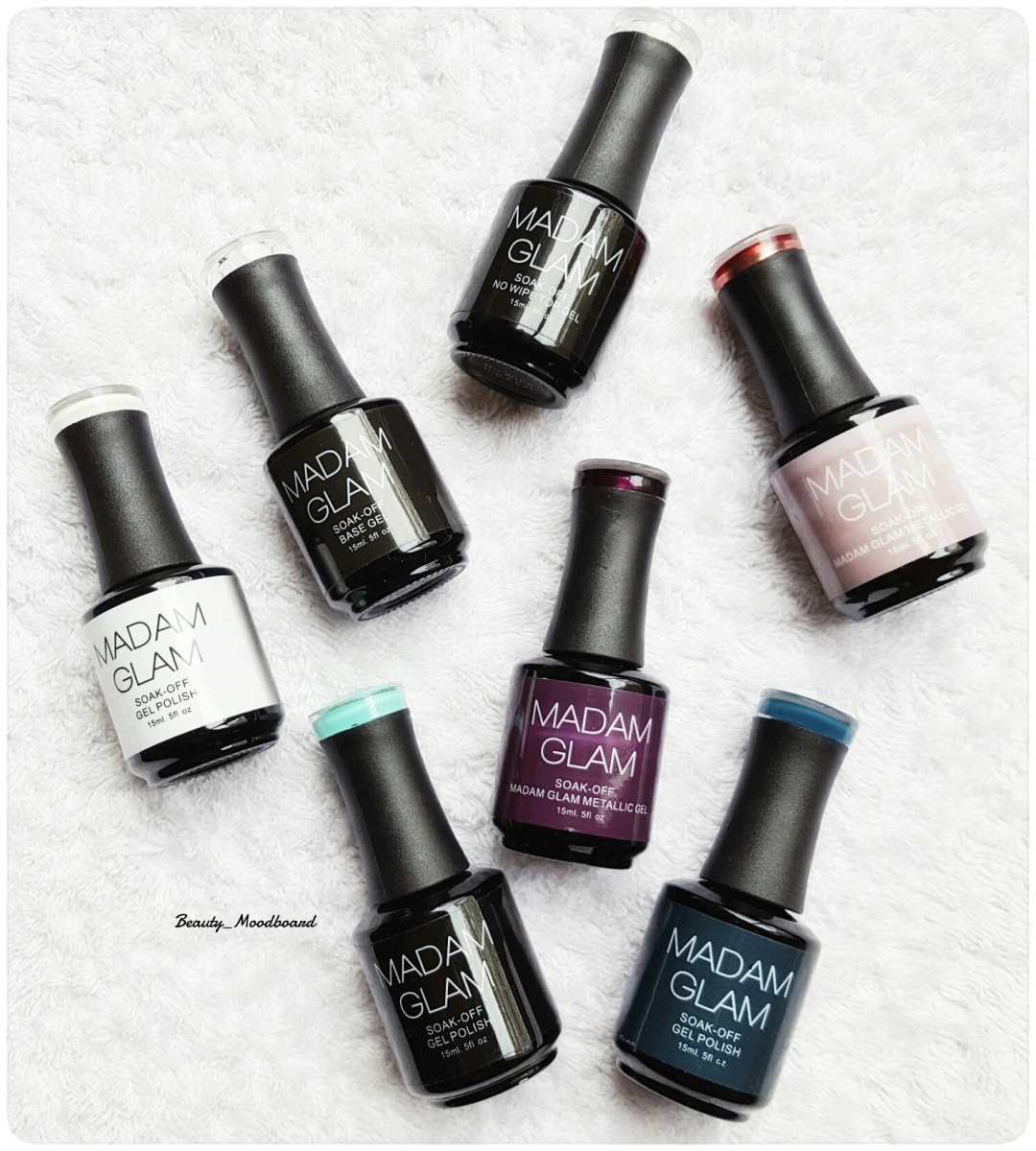 Vernis Gels Semi-Permanents Madam Glam pour des ongles rutilants !
