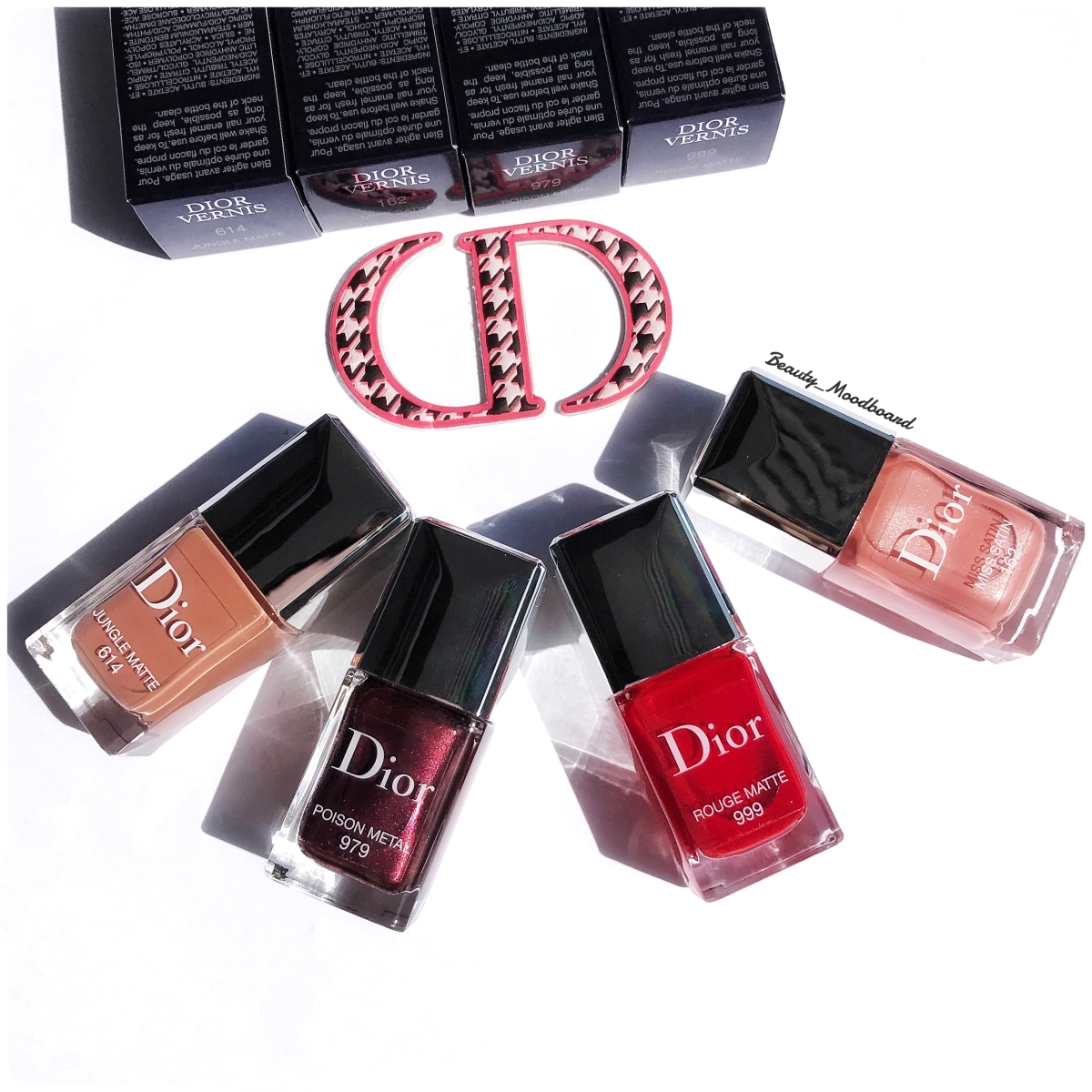 Dior Vernis Rouge Dior Collection 2017 : Fall...ing In Love !