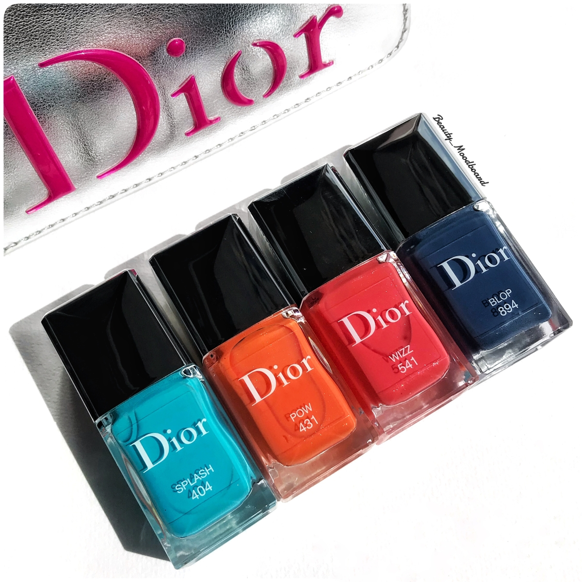 Dior Vernis Splash 404, Pow 431, Wizz 541, Blop 894 : Cool Wave Eté/Summer 2018 Collection !