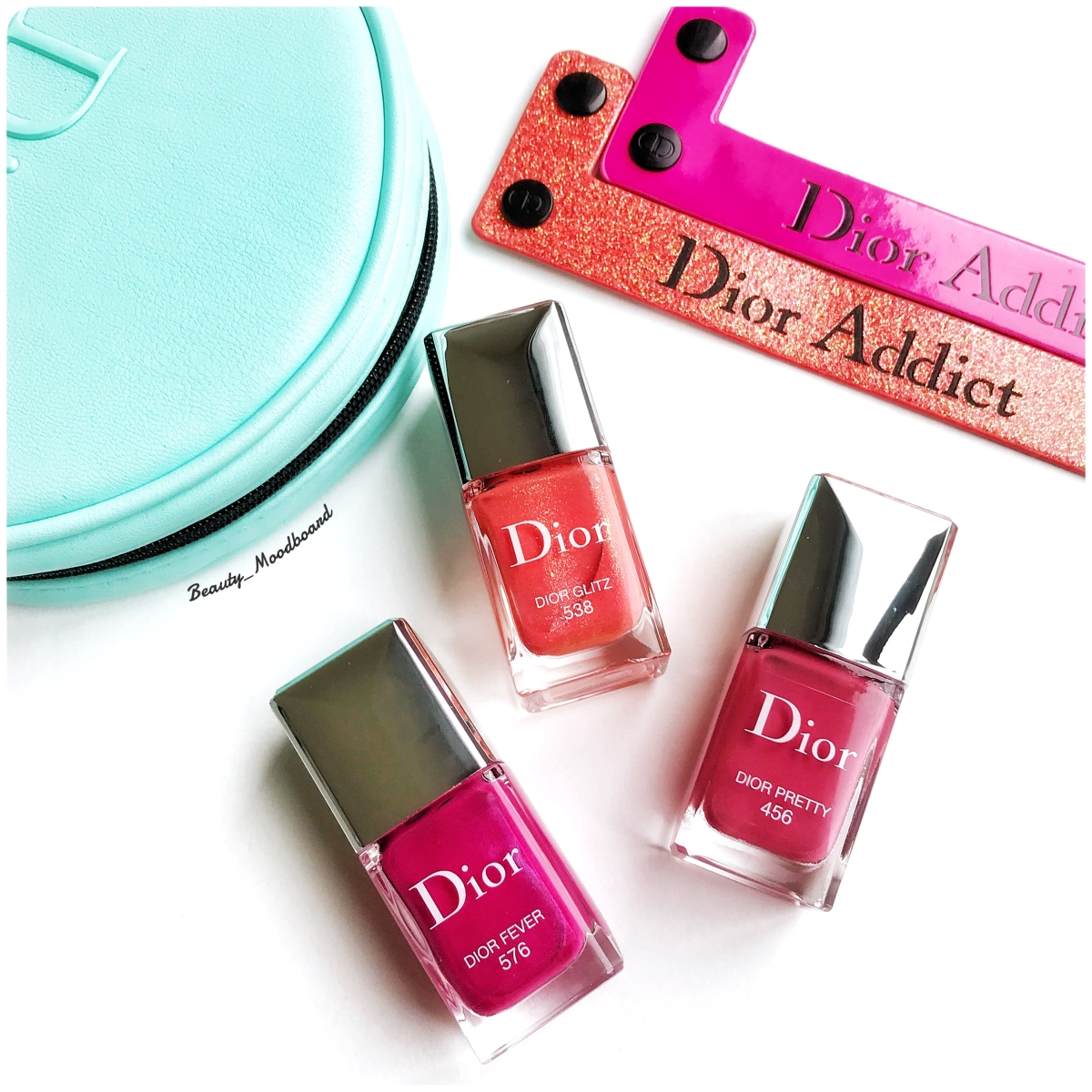 Dior Vernis Lacquer Collection 2018 : Dior Pretty 456 ; Dior Glitz 538 ; Dior Fever 576