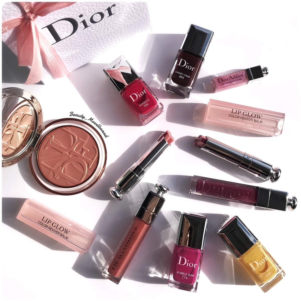 Dior Makeup Lolli'Glow Spring Look 2019 : Mon Haul !