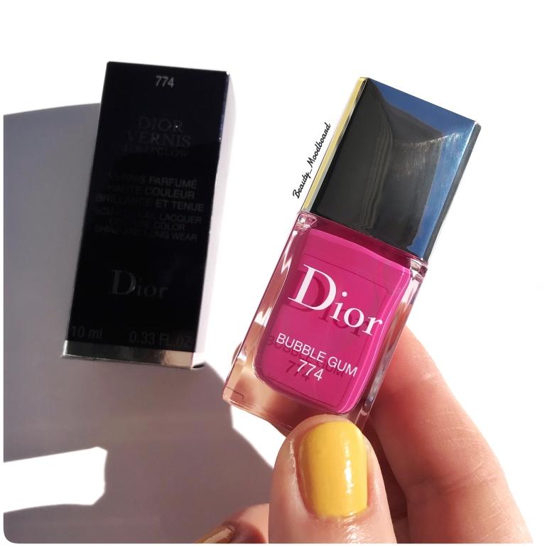 Dior Vernis Lolli'Glow Spring Look 2019 Bubble Gum 774